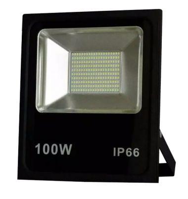 REFLETOR LED 100W BIVOLT BRANCO IP65 - REMANCI