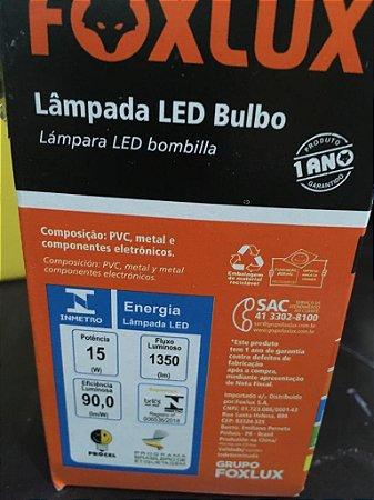 LAMPADA LED  15W  AMARELA