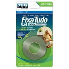 FITA ACR. DUPLA FACE INT 19MMX2M BLISTER