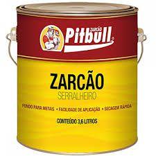 ZARCAO EXTRA OXIDO 834 900ML LARANJA -