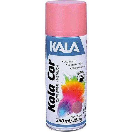 SPRAY METALICO OURO ROSE 350ML - KALA