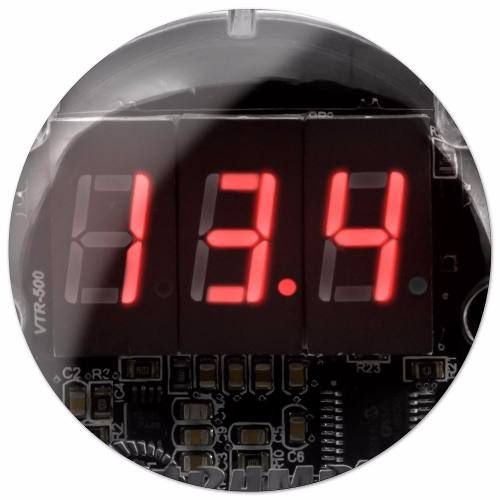 Voltímetro Taramps VTR1000 Digital LED Vermelho Remote