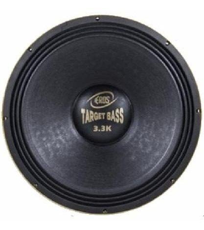 Alto Falante Eros 15P Target Bass 3.3K 1650Rms  8 Ohms