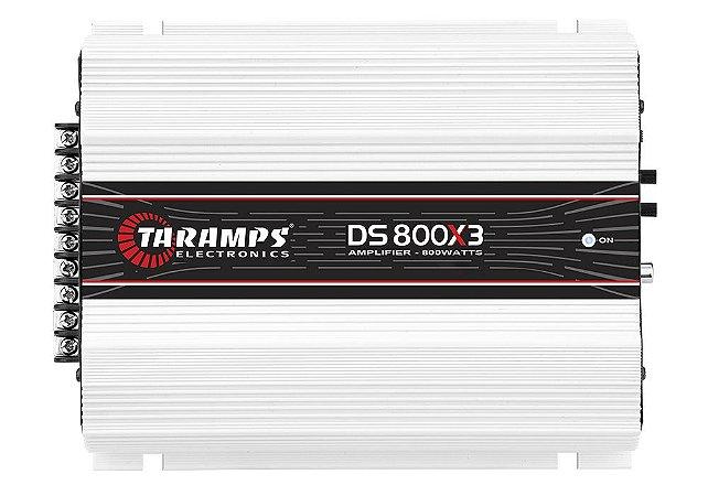 Modulo Taramps Ds 800x3 canais 2 Ohms