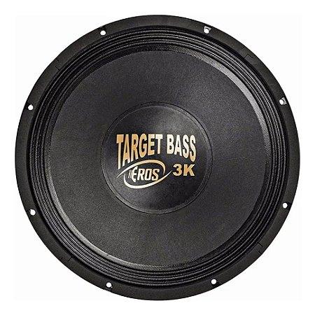 Alto falante Eros 15P Target Bass 3.0K 4 Ohms Cromado