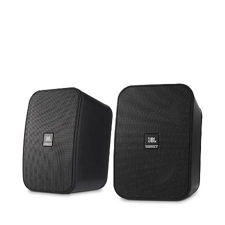 Caixa de som JBL Control X 100W preto (par)