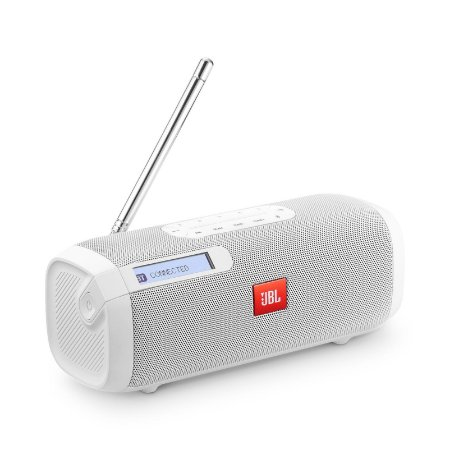 Caixa Som JBL Tuner FM branca
