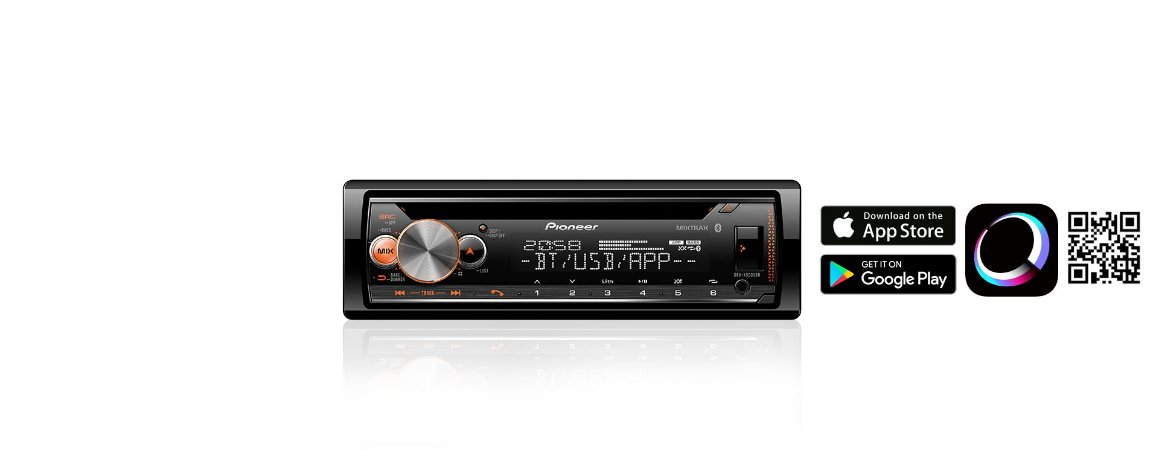 PIONEER CD PLAYER DEH-X5000BR
