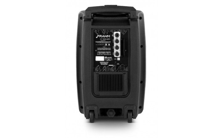 Caixa De Som Frahm Cf 400 App  - Bt/usb Amplificada Portátil