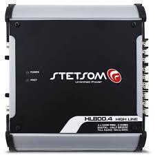 Modulo Stetsom 900W Rms Hl-800.4 Stereo Digital 4 Canais