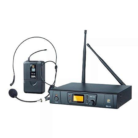 Microfone Sem Fio Staner Mão Srw 48s Headset