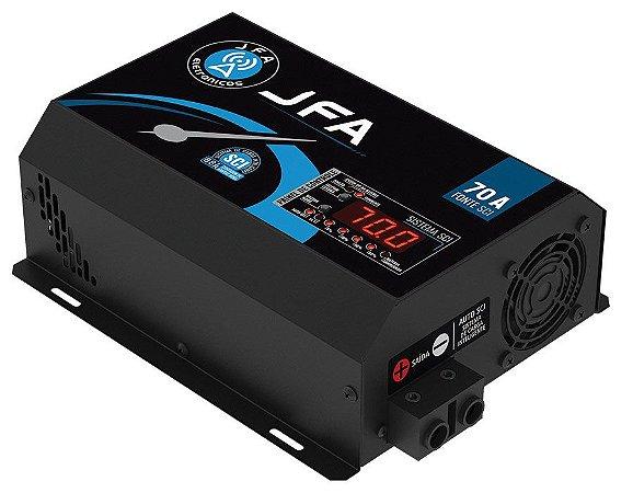 Fonte  Carregador Bateria Jfa 70a Slim c/ Sci -