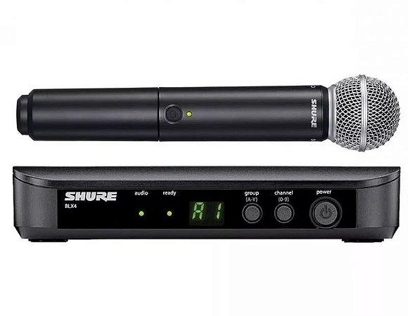 Microfone De Mão Sem Fio Shure
