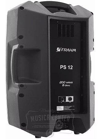 Caixa De Som Acústica Frahm Ps12 200w Passiva