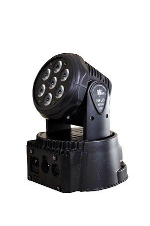 MOVING LED SPECTRUM SPM710 7 RGBW  QUADRILED