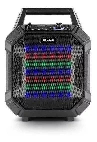 Caixa Som Amplificada Multiuso Frahm Pb 400 Bt 200w Bivolt