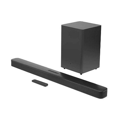 Caixa de som JBL Soundbar Bar 2.1 Deep Bass