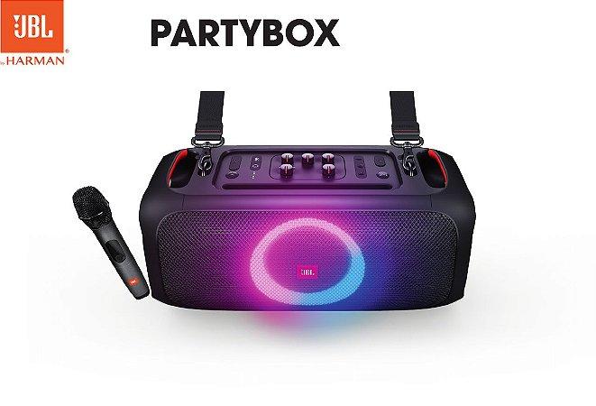 Caixa De Som Portátil Jbl Partybox On-the-go - Portátil