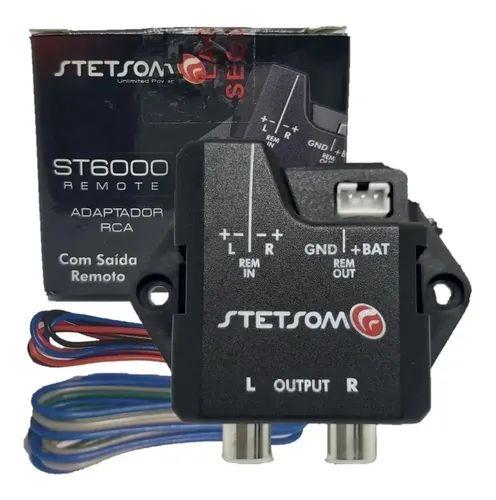 Conversor Adaptador Fio para RCA Stetsom ST6000 Remote Aterramento e Blindagem