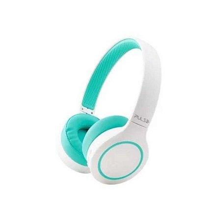 Headphone PH342 BT 5.0 Pulse  BEA TS branco/verde bateria PH342