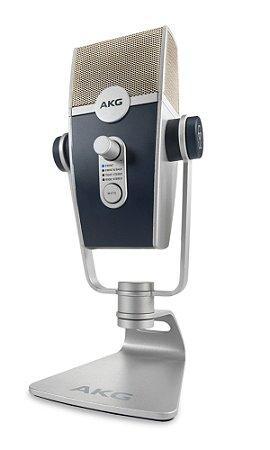 Microfone AKG Lyra C44 USB Condensador de mesa