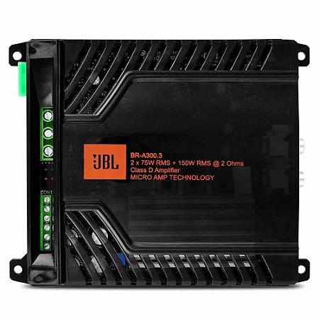 Modulo amplificador JBL BR-A 300.3 2X150rms 2ohms