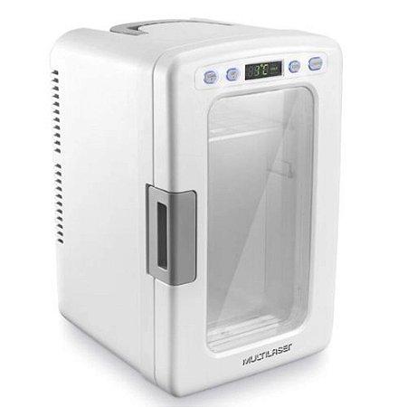 Mini Geladeira Multilaser Portatil 10l Branca 110/12v Tv015