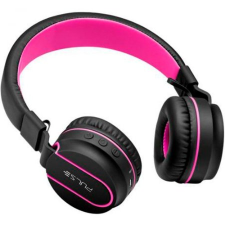 Headphone On-Ear stereo PH160 preto/rosa