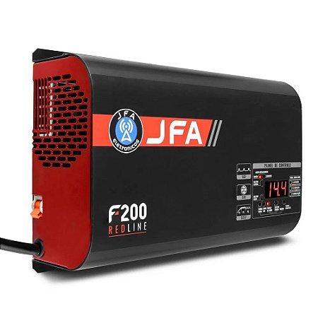 Fonte automotiva Jfa 200a 2250w RED LINE