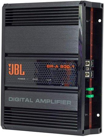 Modulo Amplificador Digital JBL Br-a 800.1 800W Rms  2 Ohms