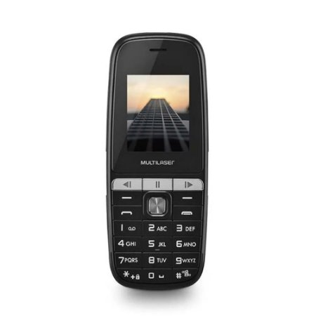 Celular Multilaser Up Play Dual Chip Mp3 Com Câmera Preto - P9076