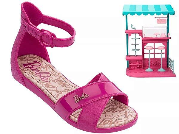 2fdfb6505 Sandália Barbie Confeitaria + Brinde Grendene kids - KaDe vendas