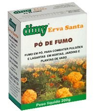 Pó de Fumo Inseticida Natural 200g
