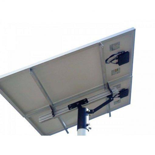 SOLAR BASE 360 : Suporte com Poste para Paineis Fotovoltaicos Redimax – 1 Painel de até 335wp