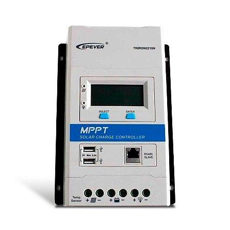 Controlador de Carga MPPT 20A 12/24V - Epever 2210N