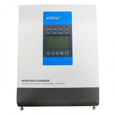 Inversor Híbrido Upower 1500W / 30A MPPT / 24Vcc / 220Vca