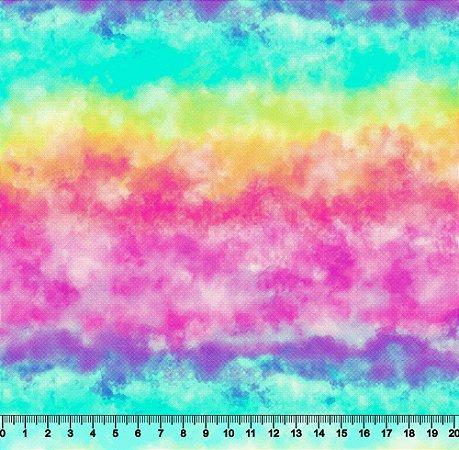 Tecido Tricoline Tie Dye  4002-01