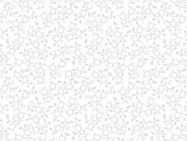 Tecido Tricoline Mini Tulipa Branco c/Branco 5153