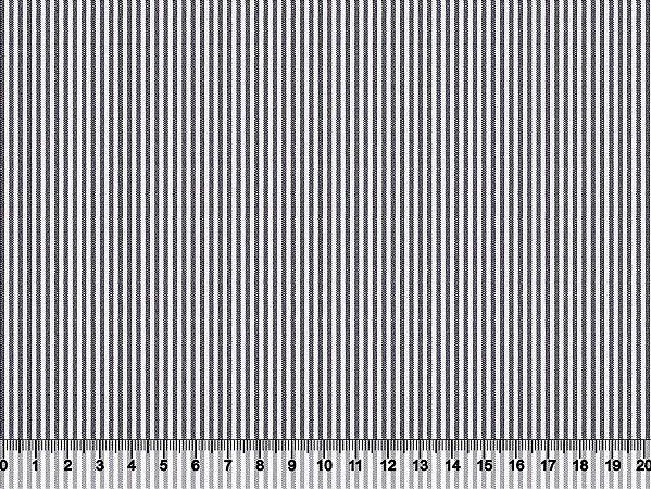 Tecido Adesivado Listrado Fino Marinho e Branco V499-1MBL-01 -- 0,50 m x 1,00 m