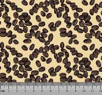 Tecido Tricoline Grãos de Café 5145