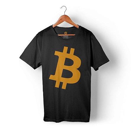 Camiseta Bitcoin Preta