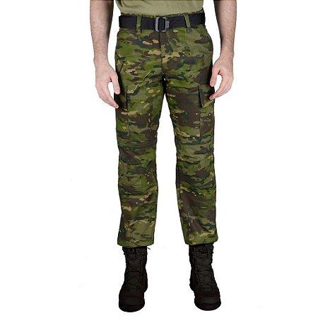 Calça Masculina Combat Camuflada Tropic Bélica