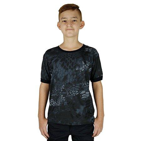 Camiseta Infantil Soldier Kids Camuflada Typhon Bélica