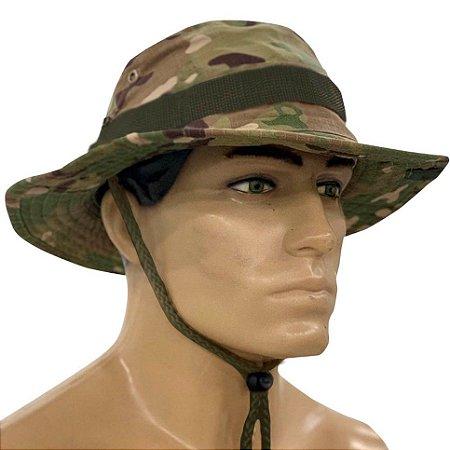 Chapéu Boonie Hat Army Bélica Multicam