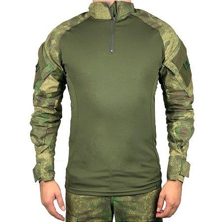 Combat Shirt Camuflado Atacs FG Bélica