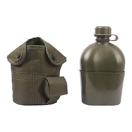 Kit Cantil com Porta Cantil e Passador de Cinto - Verde