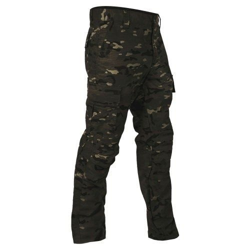 Calça 6 Bolsos Camuflada Multicam Black Bravo