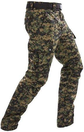 Calça 6 Bolsos Camuflada Marpat Bravo