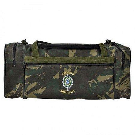 Bolsa Enxoval Brasão Do Exército Camuflada Eb - Elite