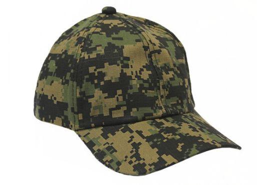 Boné Militar Rip Stop Liso  Camuflada Digital Marpat - Atack